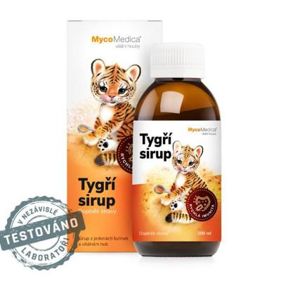 Tygří dětský sirup MycoMedica 200 ml