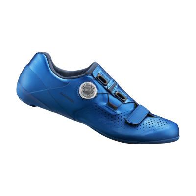 Cyklistické tretry pánské Shimano SHRC500 modré
