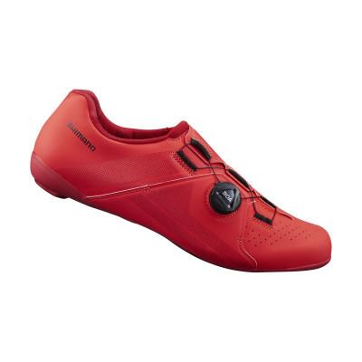 Cyklistické tretry pánské Shimano SHRC300 červené