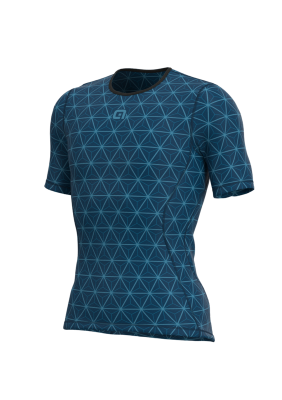 Pánská cyklistická funkční vrstva Alé Quark modrá