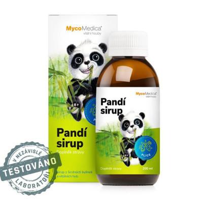 Pandí dětský sirup MycoMedica 200 ml