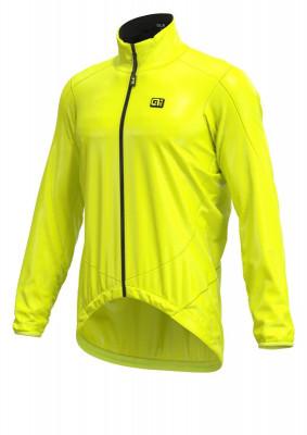 Letní cyklistická bunda pánská Alé GUSCIO Light Pack Jacket žlutá