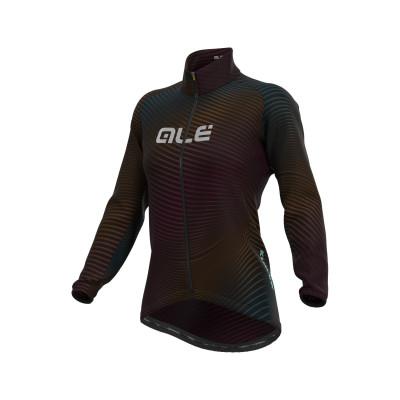 Zimní cyklistická bunda dámská Alé KLIMATIK Guscio Rings barevná