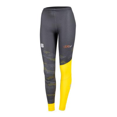 Elasťáky na běžky Sportful DORO APEX pánské černé/žluté