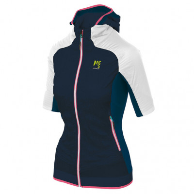Zimní outdoorová bunda dámská Karpos ALAGNA PLUS EVO Puffy tmavomodrá/bílá