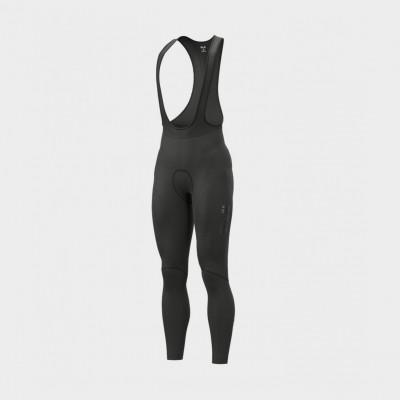 Zimní cyklistické kalhoty pánské Alé SOLID Winter černé