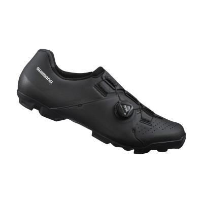Cyklistické unisex MTB tretry Shimano SHXC300 čierne