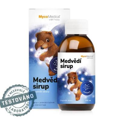 Medvědí dětský sirup MycoMedica 200 ml