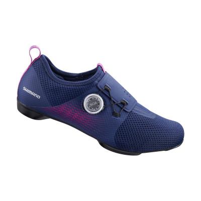 Cyklistické tretry dámské Shimano SHIC500 fialové