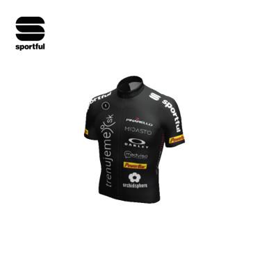 Letní cyklodres Sportful BodyFit Pro Trenujeme Klub černý