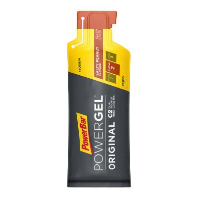 Energetický gel PowerBar PowerGel 41 g slané arašídy