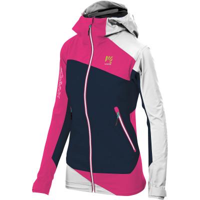 Zimní dámská outdoorová bunda Karpos Marmolada modrá/růžová/bílá