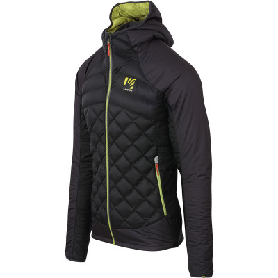 Outdoorová bunda pánská Karpos Lastei ACTIVE PLUS černá/antracit
