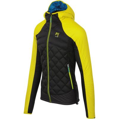 Outdoorová bunda pánská Karpos LASTEI ACTIVE PLUS žlutá/černá