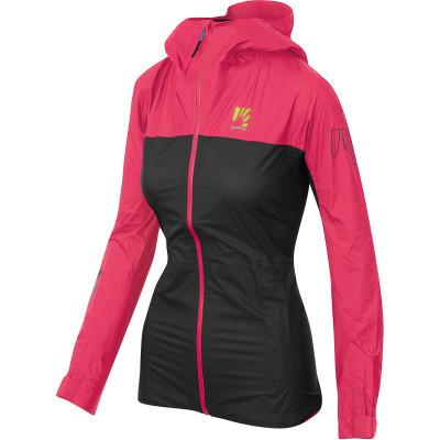 Outdoorová bunda dámská Karpos Lot Rain růžová/černá