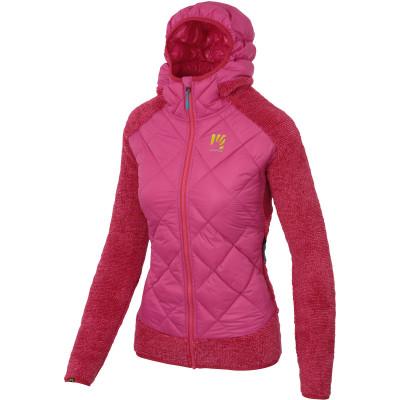 Outdoorová bunda dámská Karpos MARMAROLE růžová/červená