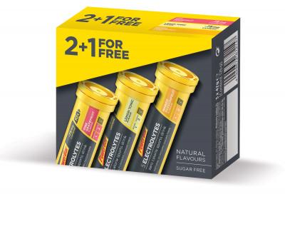 PowerBar 5 Elektrolytů 10 tablet - Mix příchutí 2 + 1 zdarma