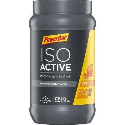 Izotonický sportovní nápoj IsoActive PowerBar 600 g pomeranč