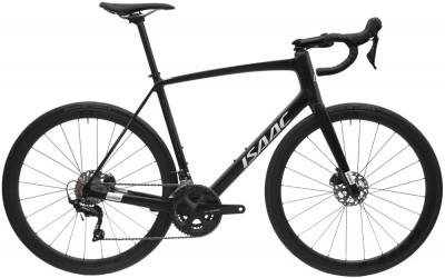 Silniční karbonový kolo s kotoučovými brzdami Isaac VITRON Onyx Black černé