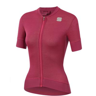 Letní cyklistický dres dámský Sportful Monocrom růžový