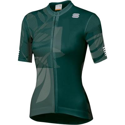 Letní cyklistický dres dámský Sportful Oasis zelený