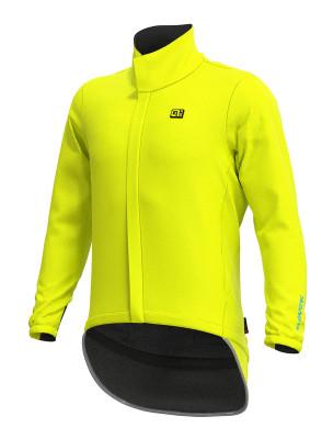 Voděodolná cyklistická bunda pánská ALÉ KLIMATIK EXTREME žlutá