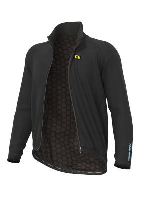 Zimní cyklistická bunda Alé KLIMATIK Guscio G+ DWR černá