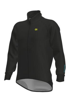 Zimní cyklistická bunda pánská Alé Klimatik Giubbino Elements černá