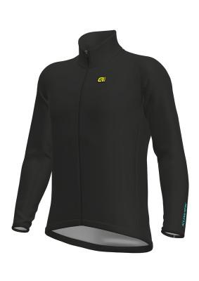 Zimní cyklistická bunda pánská Alé KLIMATIK Guscio Racing černá