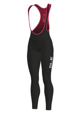 Zimní cyklistické kalhoty dámské Alé Calzamaglia C/B Donna Winter černé