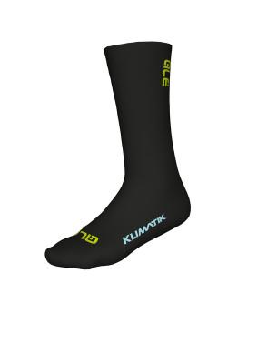 Zimní cyklistické ponožky Alé Team Klimatik Socks H22 černé